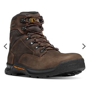 """Danner Crafter 6"""" Brown Work Boots Size 8.5"""